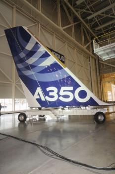 Deriva del A350 XWB msn1