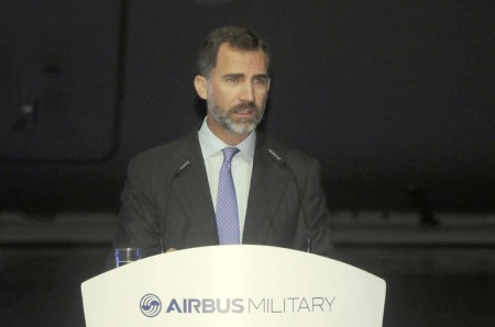SAR el príncipe de Asturias don Felipe.