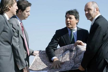 El presiente de la CAM, Ignacio González rescata el antiguo proyecto de aeropuerto de aviones de negocios en El Álamo