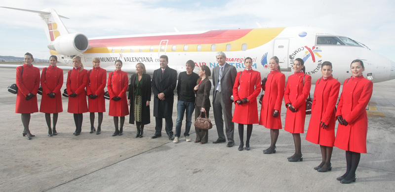Air Nostrum busca tripulantes de cabina en Madrid