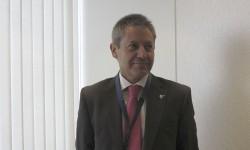 Alberto Gutiérrez, nuevo CEO de Eurofighter, durante su conferencia de prensa en Le Bourget