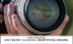 Cartel II concurso de Fotografía Aeronáutica patrocinado por Fly - News.