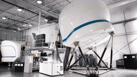 El nuevo simulador de ATR 72-600 de GTA estará operativo en noviembre de 2017.