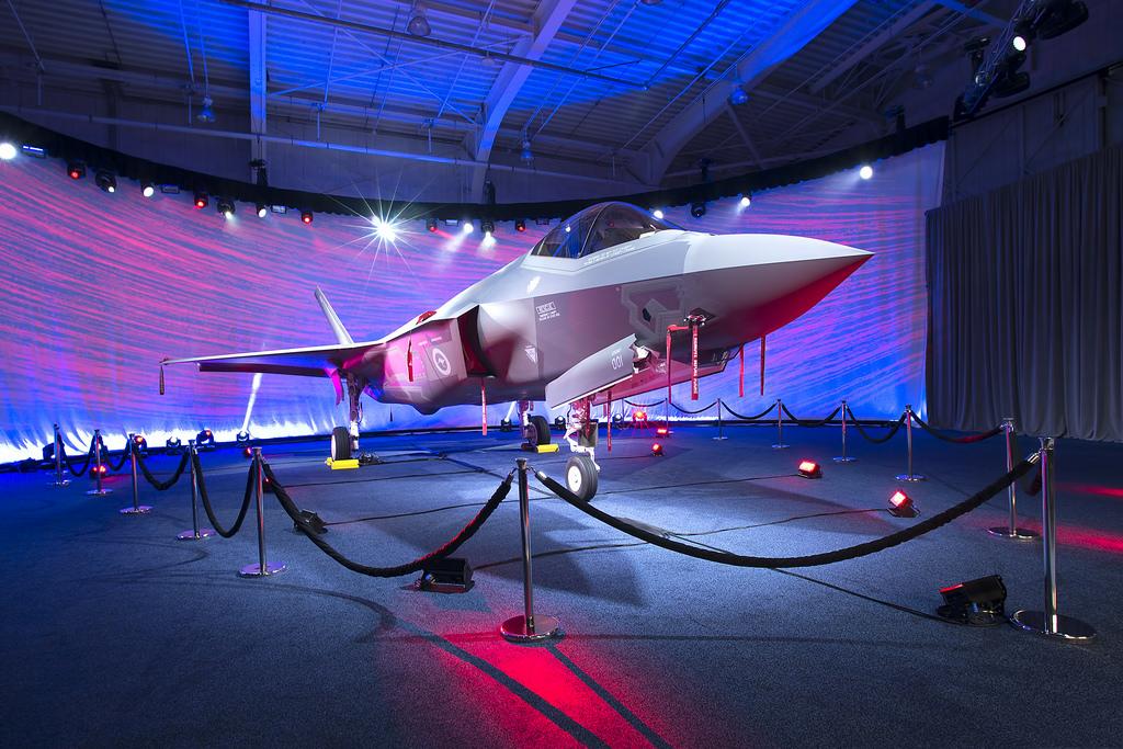 Primer Lockheed Martin F-35A de la Fuerza Aérea australiana.