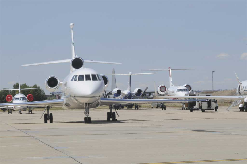 Gestair ya opera sus aviones ejecutivos desde Barajas