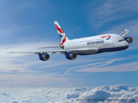 ¿A380 de British Airways en Madrid?
