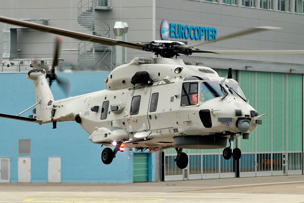 Primer NH90 de la Marina de Bélgica