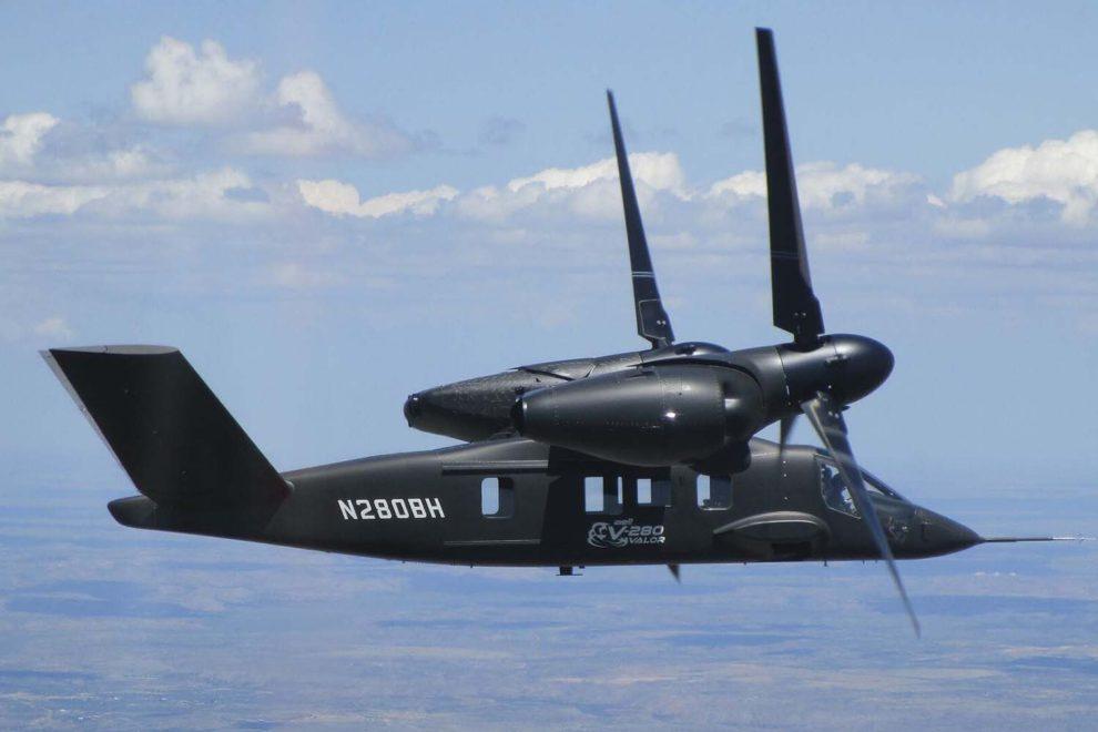 Bell ha apostado por un convertiplano para su oferta del nuevo transporte de alta velocidad.