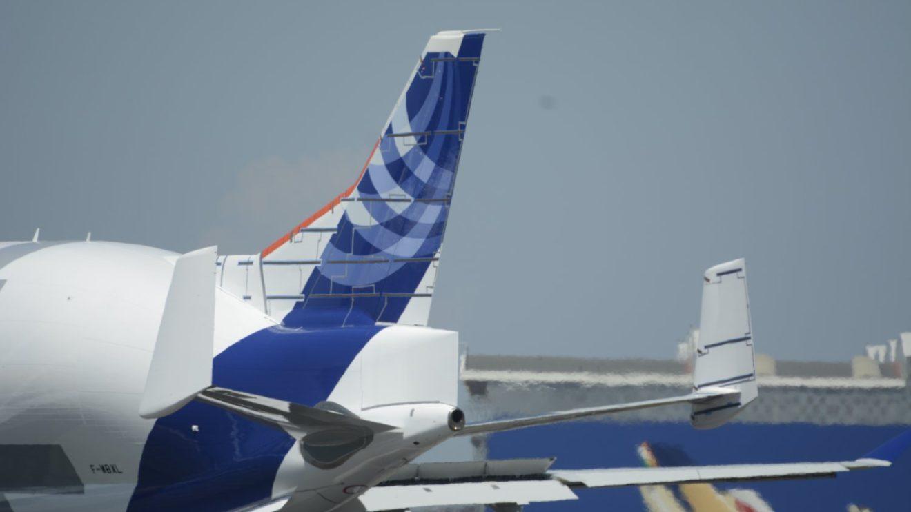 Casi todo lo que se ve en esta foto de la cola del Beluga XL está diseñado y construido en España.