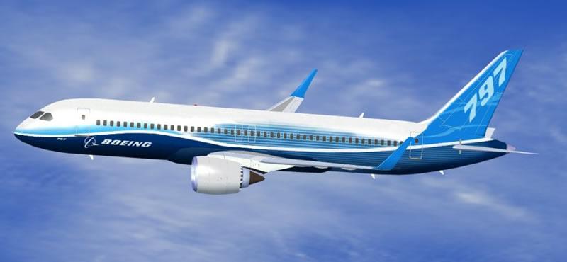Una de las posibles configuraciones que circulan en Internet desde hace tiempo del Boeing 797.