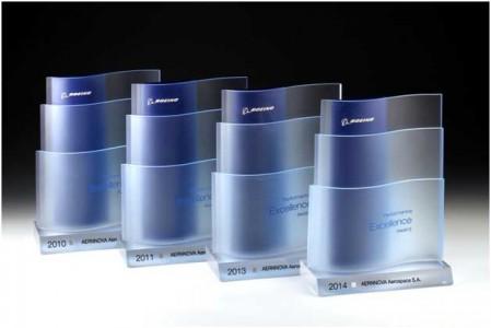 Boeing premia a Aernnova como suministrador de servicio de ingeniería