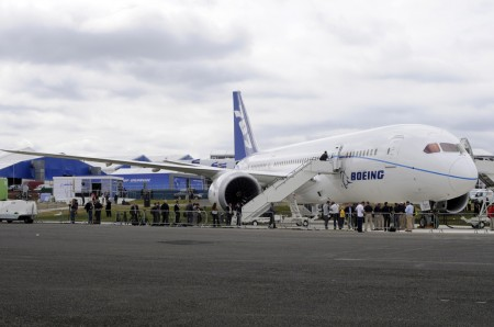 B-787 en Farnborough en julio de 2011