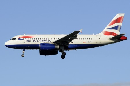 Airbus A319 de British Airways