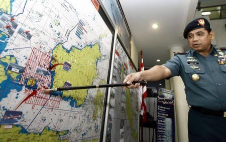 La búsqueda de los restos del avión de AirAsia se centran en el Mar de Java