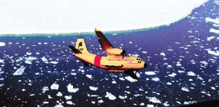 C-27J con los colores del SAR de Canadá.