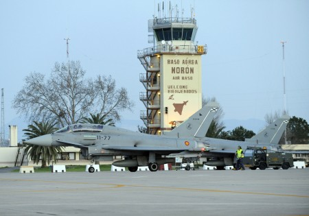 CE16-08/11-77 Eurofighter accidentado