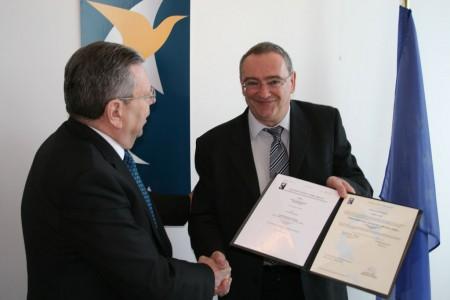 Entrega del certificado EASA del A400M