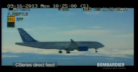 Primer vuelo del Bombardier CSeries