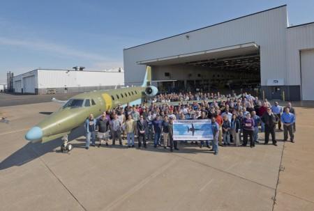 Rollout del Cessna Citation Sovereign