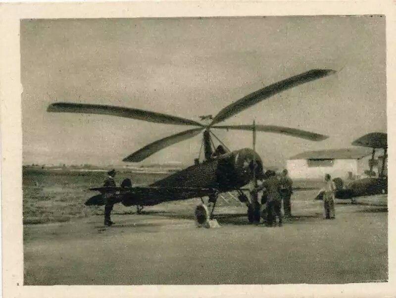 Cierva C4, el primer autogiro que voló con éxito.