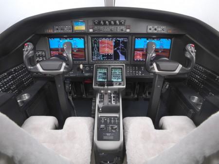 Cockpit del Citation M2