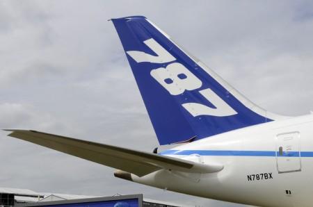 Estabilizador horizontal del Boeing 787