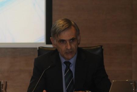 Rafael Galleg, Indra exporta casi el 80 por ciento de su producción.