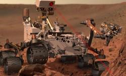 Nave Curiosity, que lleva una pieza desarrollada por Sener