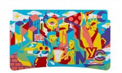 Pedro Campiche (Nueva York) – Pedro nos da una mirada fresca de Nueva York, re-imaginando el horizonte icónico de la ciudad a través de la lente del arte callejero.