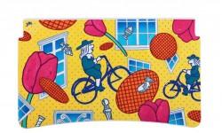 Sac Magique (Amsterdam) – Waffles holandeses y ciclistas flotan a través de las calles llenas de flores de Ámsterdam en el singular tributo de Sac a la ciudad que él ama.