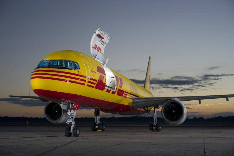 Sólo en Europa DHL tienen más de 40 Boeing 757 de carga.