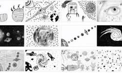 Parte de los dibujos presentados a concurso.