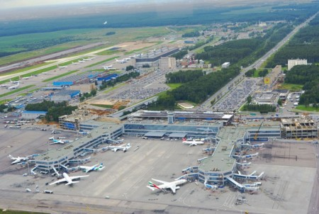 Aeropuerto de Moscú Domodedovo