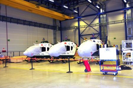 Factoría de Eurocopter en Albacete