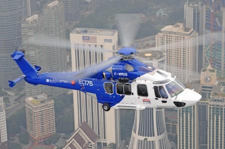 Ls pruebas de certificación del EC175 se completaron el 27 de enero.