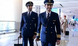 Nuevas selección de pilotos españoles de Emirates.