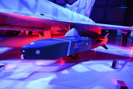 Misil de largo alcance tauros en el Eurofighter