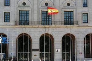 Fachada del ministerio de Transportes, , Movilidad y Agenda Urbana.