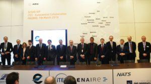 Firma en el World ATM Congress del acuerdo entre Eurocontrol e iTEC.