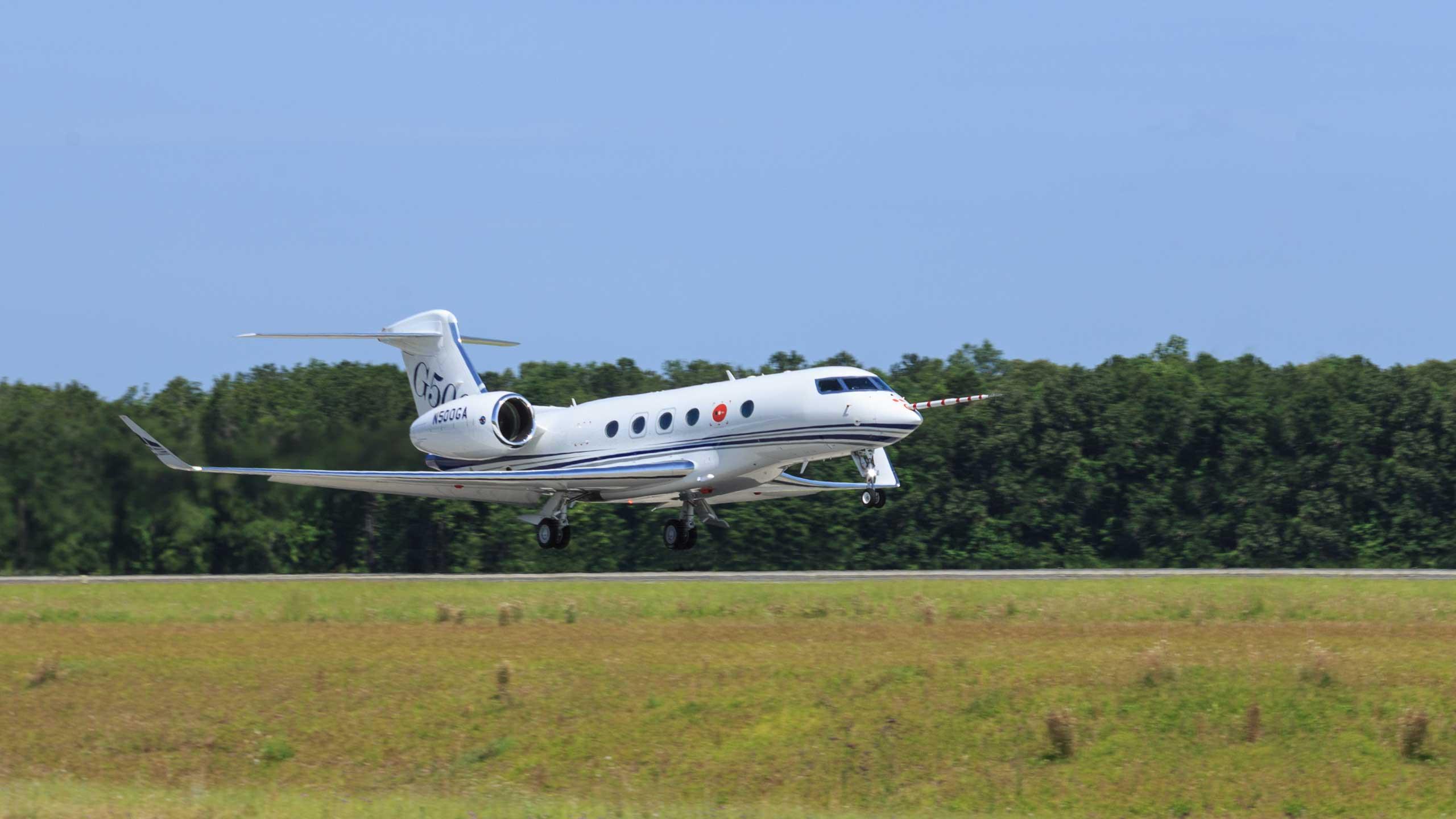 El nuevo G500 realizó su primer vuelo marcando el inicio del programa de pruebas e vuelo previo a la certificación