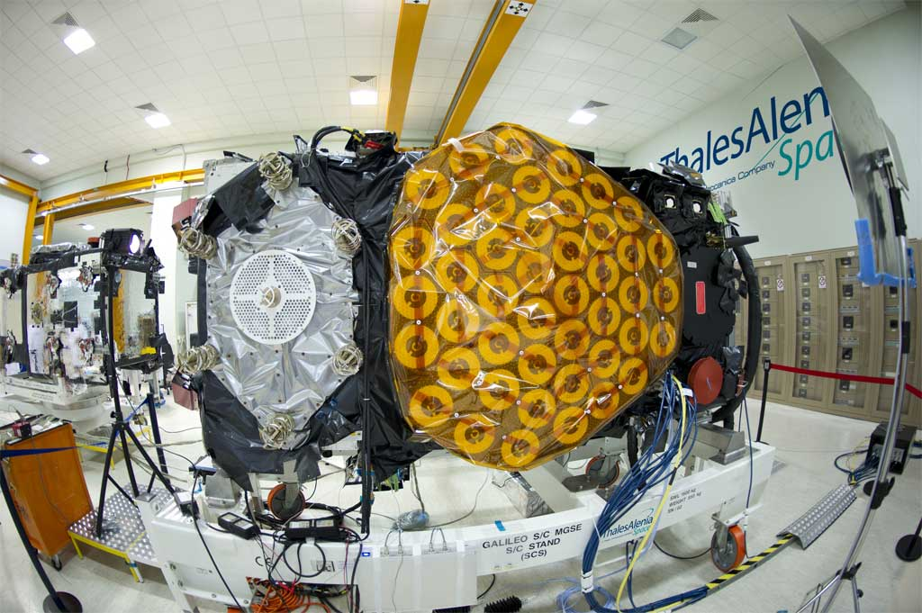 Lso dos nuevos satélites de Galileo servirán para validar el sistema