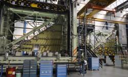 Producción de alas del Eurofighter en Getafe