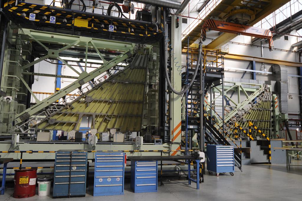 Factoría de EADS en Getafe