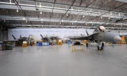 Diversos F/A-18 españoles en proceso de mantenimiento y modernización en Getafe