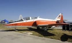 En Getafe se conservan diversos aviones producidos por CASA como este C-101.