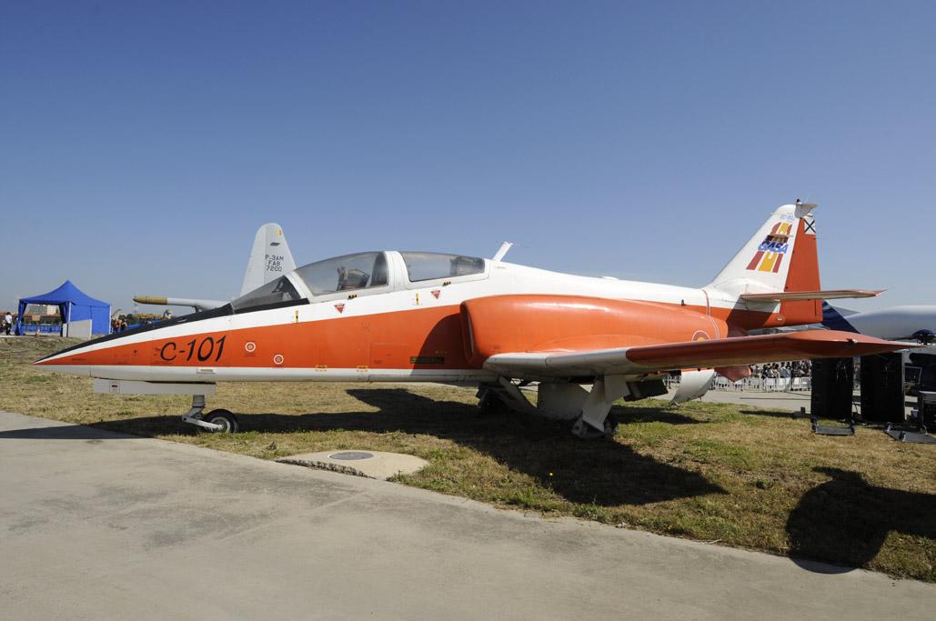 CASA C-101 en Getafe