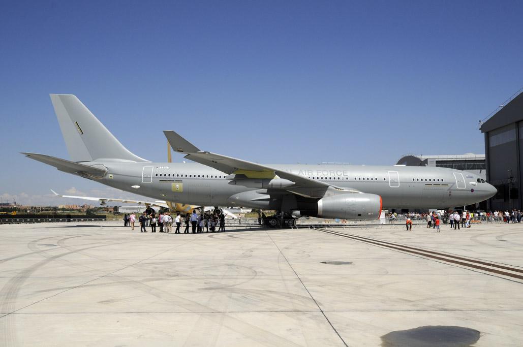 Airbus A330MRTT de la RAF