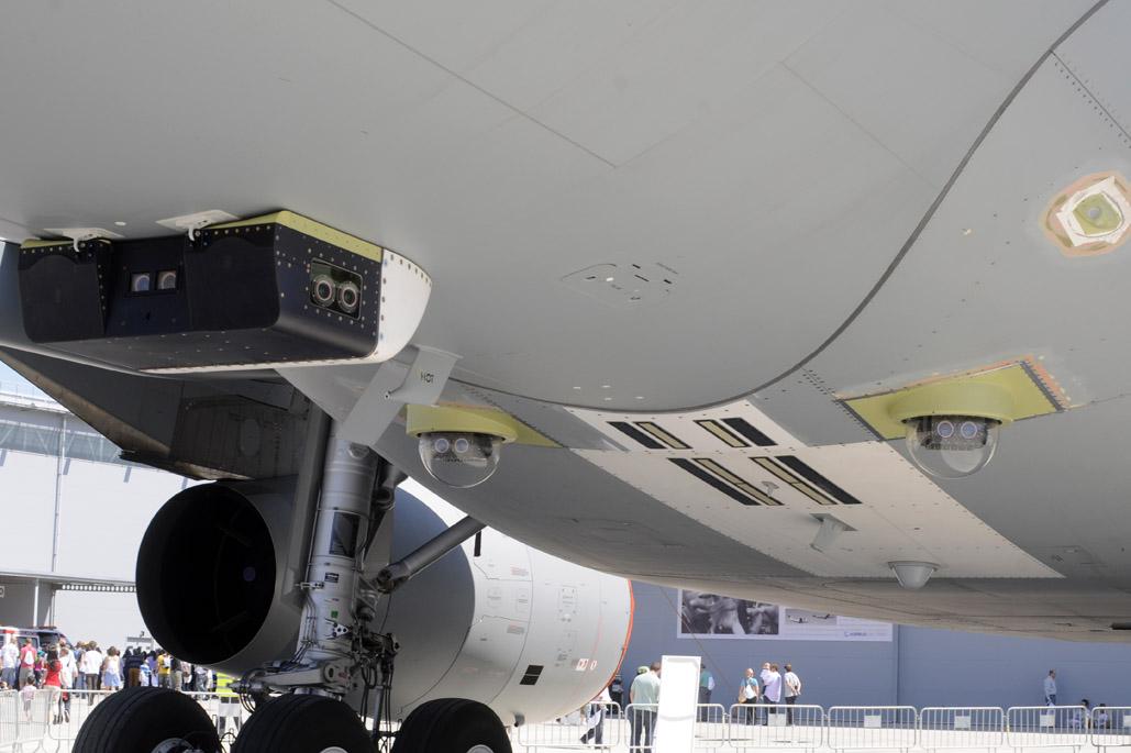 Camaras en el A330MRTT