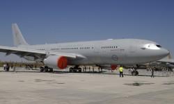 El segundo Airbus Military A330MRTT de la Fuerza Aérea de Australia a la espera de su entrega.
