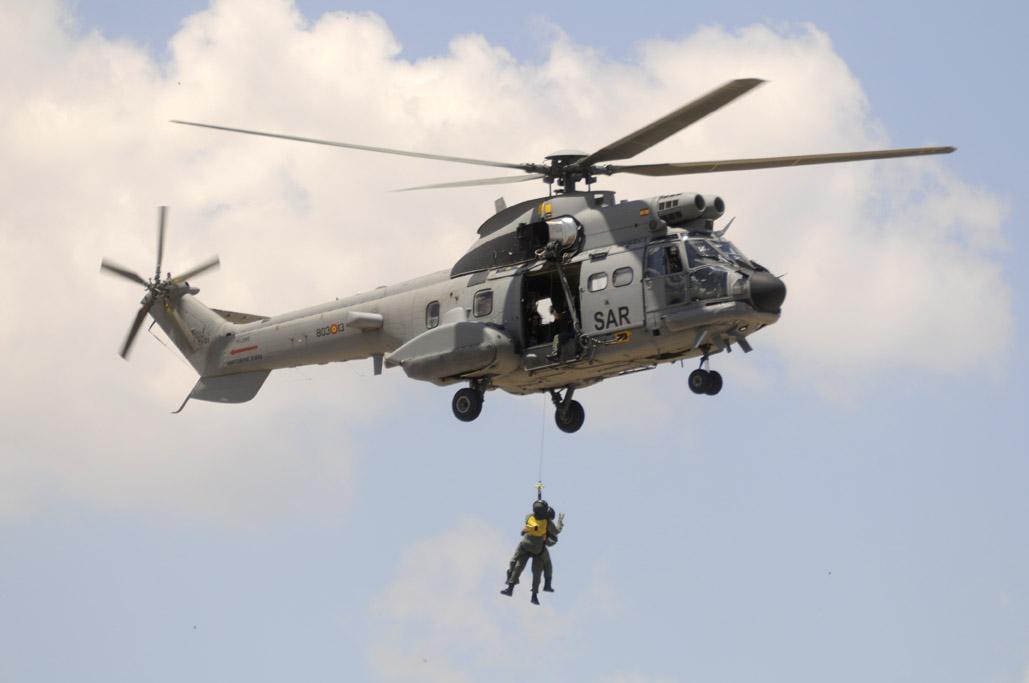 Super Puma del SAR